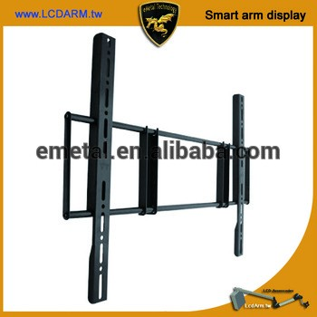 超薄安全防盗locable通用电视支架壁架