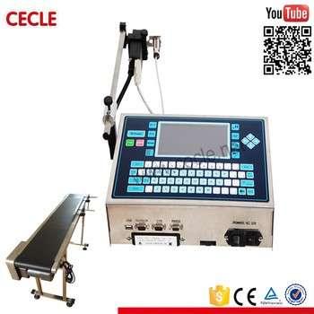 高质量便携式连续一体式工业直墙木材批号日期喷码打印机