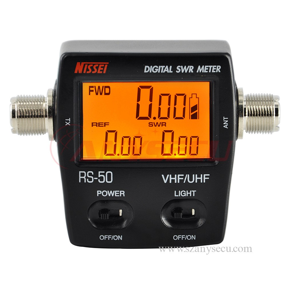 Vu Meter Nissel Rs50 Digital Swr Power 125 525 Mhz Uhf Vhf 1 Dual Band
