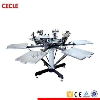 流行的半自动丝网印刷机