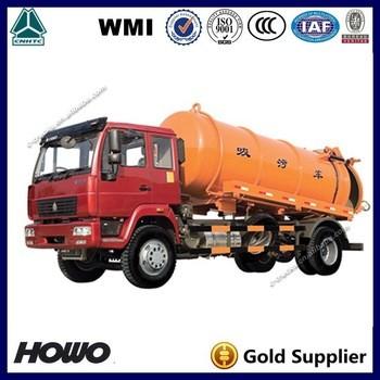 sinotruk15升污水和污水抽吸真空卡车卡车for sale