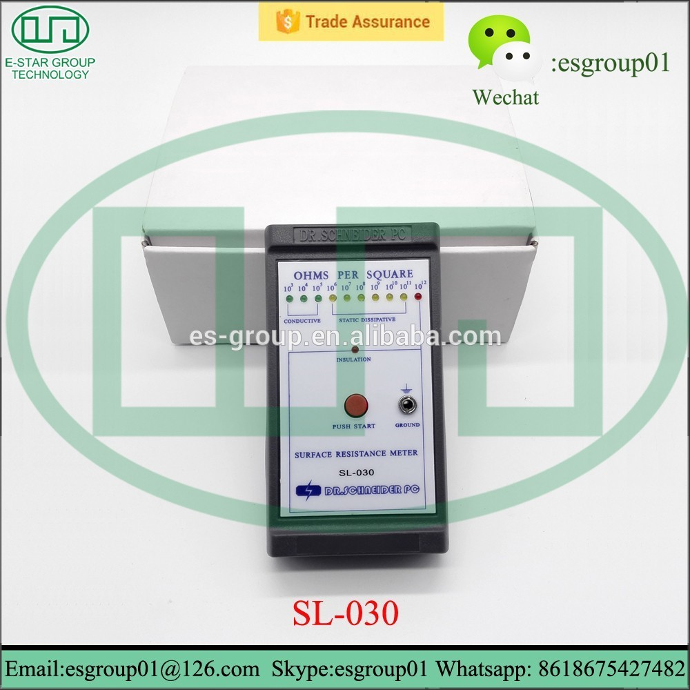 SL-030 Surface Soil Resistivity Meter Electrostatic Test Meter