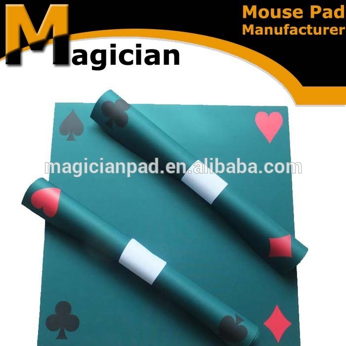 poker table mat