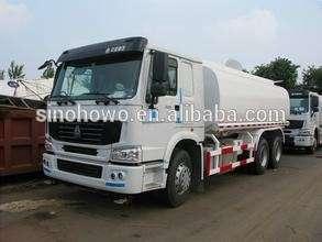 工业燃料运输卡车