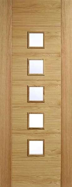 橡木木工门