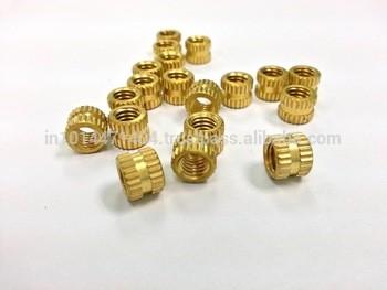 铜嵌件螺母