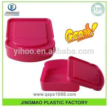PP现代设计一次性塑料夹层盒