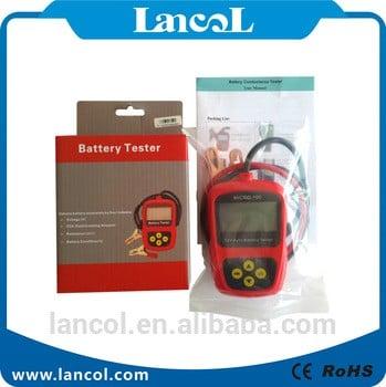 12V汽车电池测试仪micro-100蓄电池电导测试仪