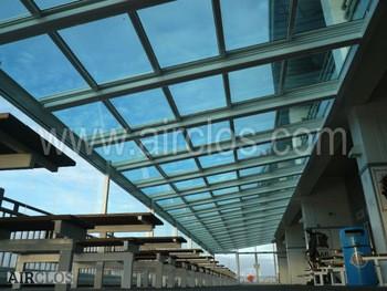 可伸缩的Glass Roof