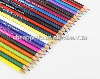 低价格削尖孩子画彩色铅笔