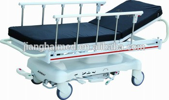 patient ambulance hydraulic transport stretcher
