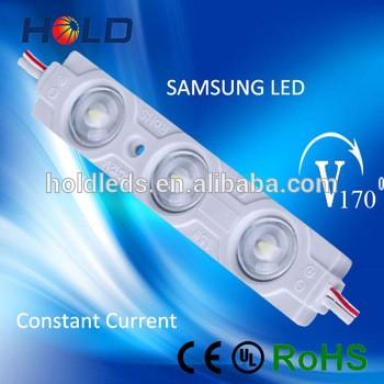 高质量的注射防水160degree 110lm恒定电流SMD 2835三星LED模块具有5年保修