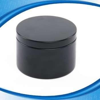 定制圆形装饰空铝蜡蜡烛锡集装箱
