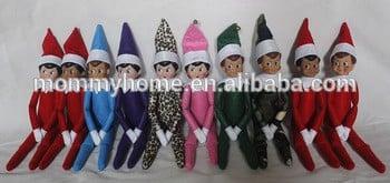 圣诞礼物的传统架上m6070902精灵娃娃
