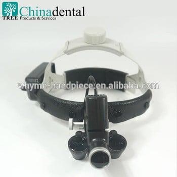 新力士30000 tr-l05外科医疗LED牙科双目放大镜光,Cap设计,皮垫,有2.5x和3.5