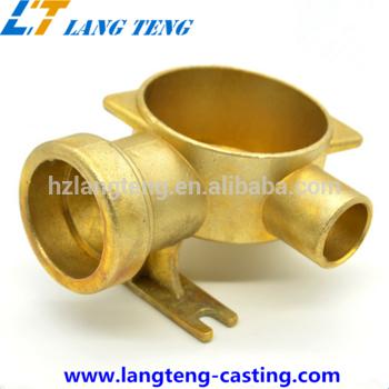 OEM生产黄铜/青铜和铜基砂型铸件