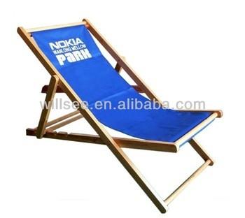 he-1031,促销木制折叠沙滩躺椅,躺椅木材织物