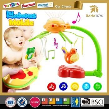 新设计RC音乐手机婴儿铃婴儿床挂玩具