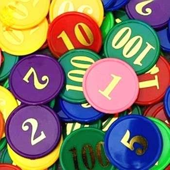 自定义扑克芯片,塑料令牌,扑克芯片组