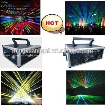 10w全彩RGB激光动画迪斯科