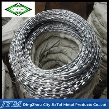 BTO CBT低价镀锌铁丝的铁丝网,铁丝网围栏、刀片刺网