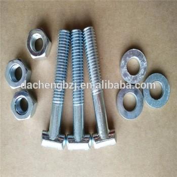 T头螺栓/ T与六角螺母和垫圈螺栓夹式支架施工
