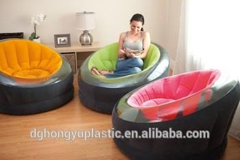 舒适的充气PVC椅露营