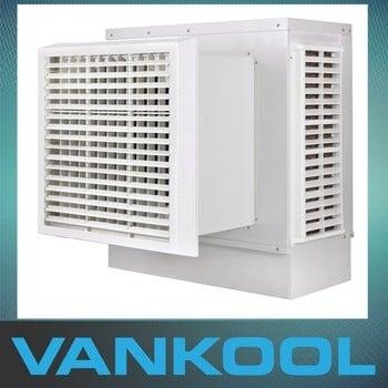 迪拜7500m3h壁挂式蒸发式空气冷却器空气冷却器冷却水空调销售最好的巴西