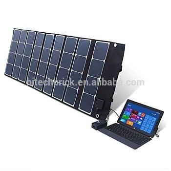 120w:18V / 5V PC汽车电池太阳能充电器太阳能板折叠,电话