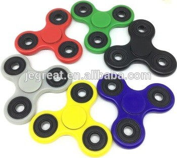 Fidget Spinner For Relieves Stress And Anxiety For Adults Playing In Hands