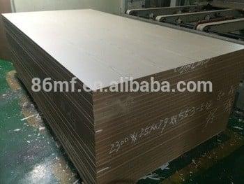 E1胶25mm马特完成的中密度纤维板与三聚氰胺完成