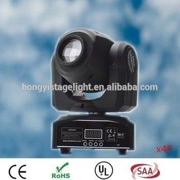 2017 Hot Factory direct sale 30w LED Moving Head Lights spot light dj set gobo dj light projector for bar event