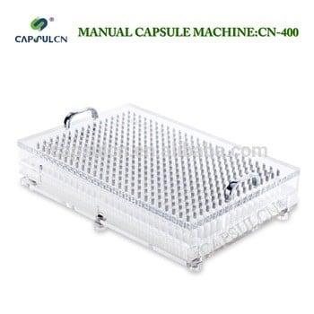 (400孔)cn-400大小000 00 0 1 # # # # 2 # 3 # 4 # 5 #手工胶囊填充/胶囊充填机适用于分离胶囊