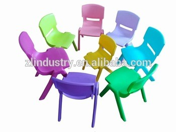 Wholesale furniture kindergarten stackable cheap kid plastic chair
