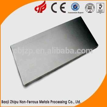 Annealing Molybdenum Plate For High Temperature Vacuum Furnace