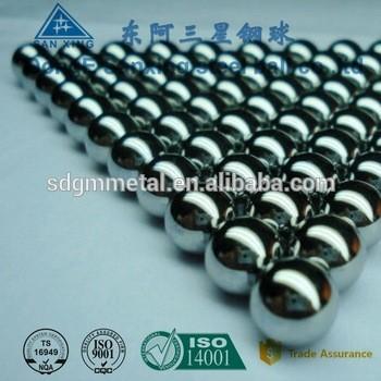 定制高精度抛光钢球5毫米不锈钢球出厂价