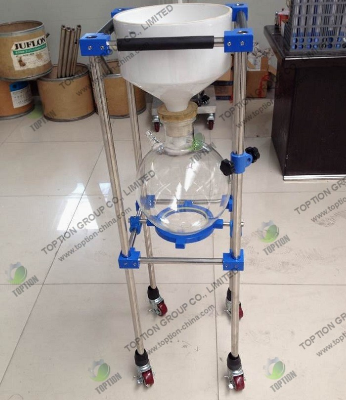 50L Lab Stainless Steel Vacuum Filter TOPT-CL-50 Industrial