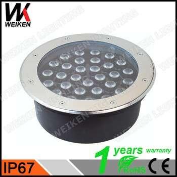 3W/5W/7w / 9W /十二瓦特/ 15W/18W / 24w / 36w LED甲板现货/嵌入式LED落地灯/防水LED地埋灯