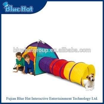 畅销尼龙玩具隧道帐篷