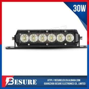 """汽车电气系统7""""30w防水LED汽车灯条越野驾驶轻型越野酒吧LED"""