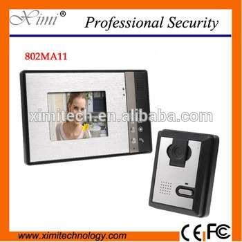"7"" Color Tft Lcd Video Door Bell Outdoor Camera Access Control System Intercom System Door Video Phone Intercom"