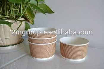 Custom Printed Frozen Yogurt & Ice Cream Paper Cup, Paper Bowls , ice ream containers