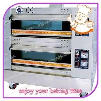 面包店设备商用面包饼干饼干烘焙机气体比萨烤箱