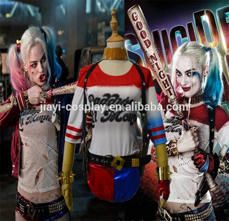 Anime Cosplay Costume Harley Quinn Sexy Fancy Dress Costume