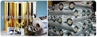 金属化聚酯薄膜与PE涂层