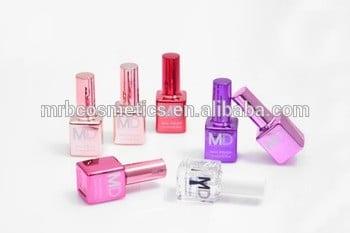 15ml 12色热卖优质镜面指甲油与自有品牌