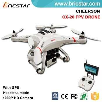 新的设计cx-20 6axes陀螺模型四通遥控直升机GPS遥控玩具的爱好