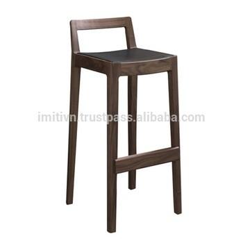 越南工厂供应酒吧家具豪华椅定制木制金属条凳