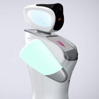 家庭与医院互动式老年护理机器人辅助护理人员