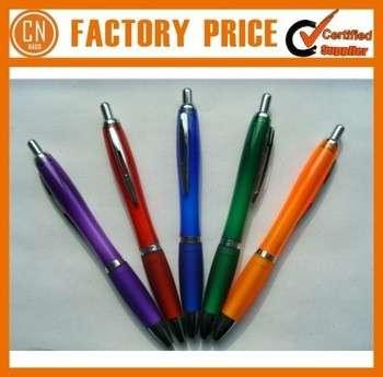 2015质量最好的塑料定制宣传笔与公司标识打印